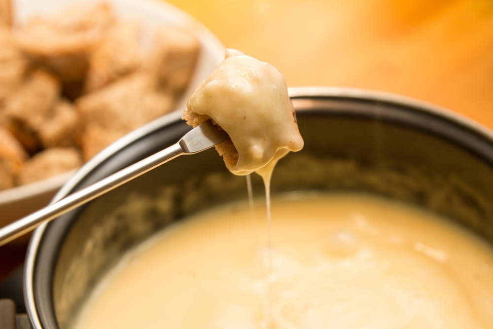 Cheese fondue switzerland