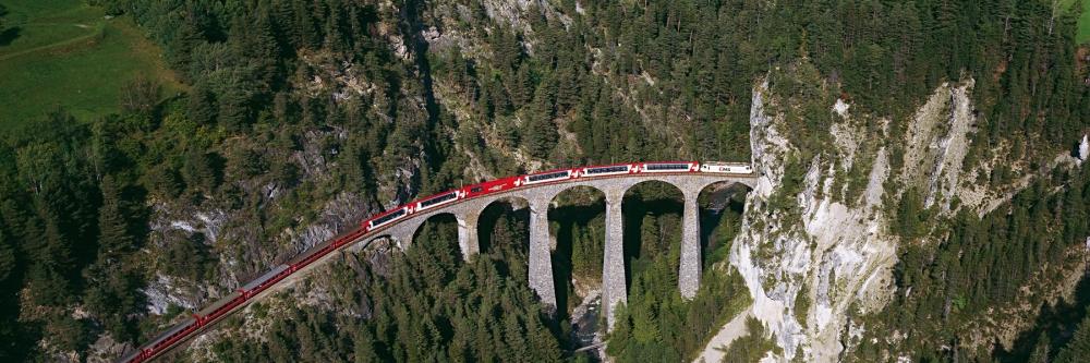Glacier-Express, Landwasser Viaduct